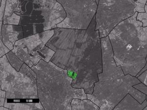 Blauwkapel - Image: Map NL De Bilt Blauwkapel