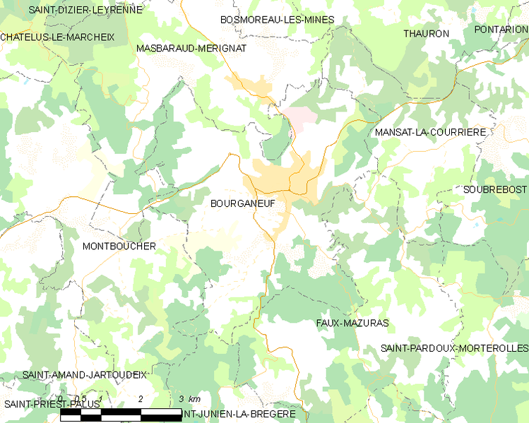 Fil:Map commune FR insee code 23030.png