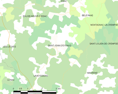Map commune FR insee code 24427.png