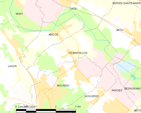 Map commune FR insee code 64431.png