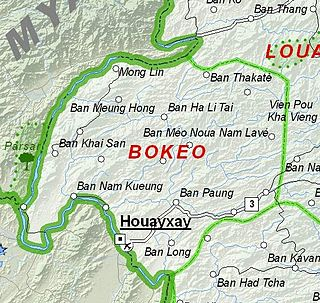Bokeo Province Smallest and least populous province of Laos