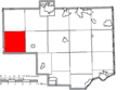 Map of Columbiana County Ohio Highlighting West Township.png