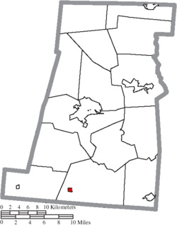 Location of Midway in Madison County