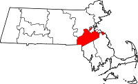Map of Massachusetts highlighting Norfolk County.svg