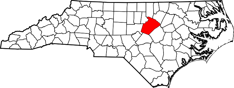 File:Map of North Carolina highlighting Wake County.svg