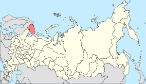 Map of Russia - Murmansk Oblast (2008-03).svg