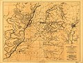 Map of the country between Millikens Bend, La. and Jackson, Miss. shewing the routes followed by the Army of the Tennessee under the command of Maj. Genl. U.S. Grant, U.S. Vols. in its march from LOC 99447408.jpg