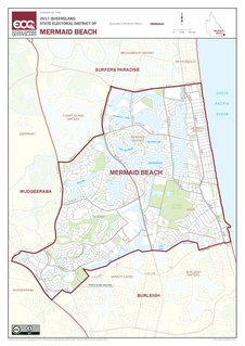 Electoral district of Mermaid Beach state electoral district of Queensland, Australia
