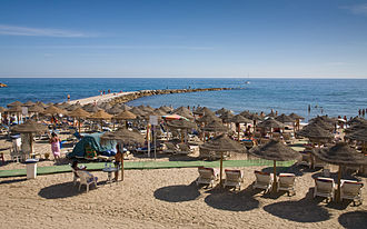 Marbella Beach, Costa Del Sol, Spain - Sept 2008.jpg