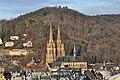 Marburg Nordviertel mit Elisabethkirche und Kirchspitze von SO 3.jpg