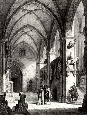Bamberg Horseman - Bamberg Cathedral, 1820