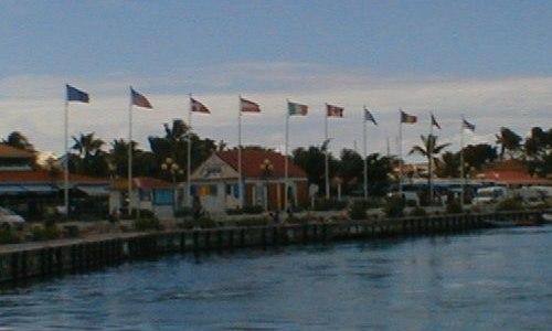 Marigot flags St Martin