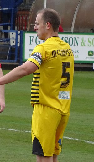 Mark McChrystal - McChrystal playing for Bristol Rovers in 2016