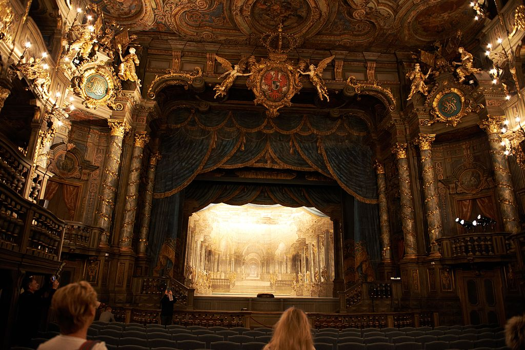 Markgräfliches Opernhaus Bayreuth - Bühne