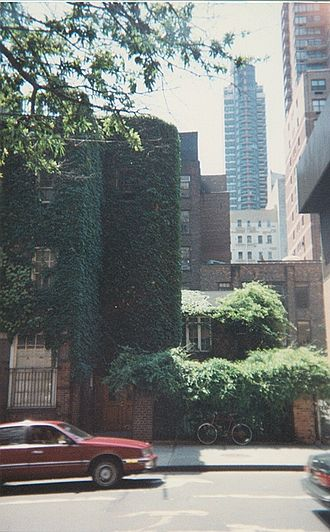 Martha Graham Center of Contemporary Dance - Martha Graham School headquarters as of 1994, at 316 East 63rd Street, New York. Though the school has since moved from this location, this is the last studio that Martha Graham herself taught in.