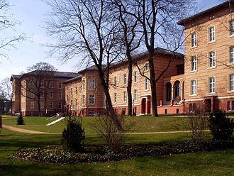 Martin Gropius - Image: Martin Gropius Krankenhaus Eberswalde