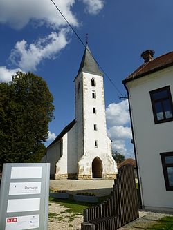 Gothic church of St. Martin in Martjanci