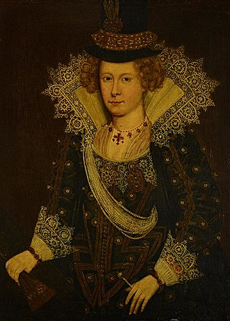 Mary Beaton - 16th century portrait by an unknown artist. National galleries of Scotland.