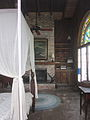Mary Plantation Guest House Inside Bedroom Fireplace.JPG