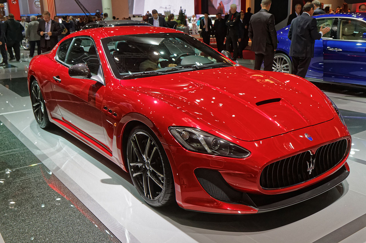file maserati granturismo mc stradale mondial de l 39 automobile de paris 2014. Black Bedroom Furniture Sets. Home Design Ideas