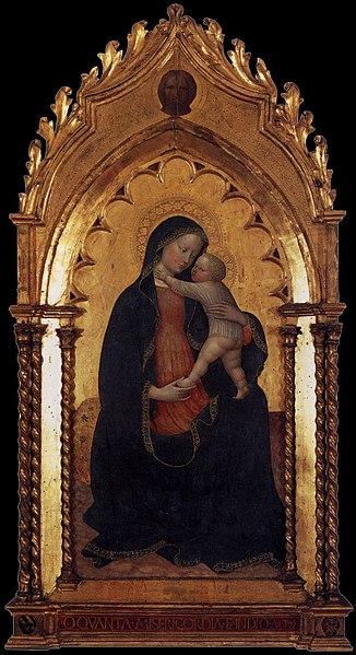 File:Masolino, madonna dell'umiltà brema.jpg
