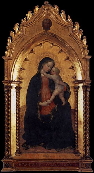 Kunsthalle Bremen - Madonna with Child (1423) Masolino da Panicale