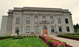 Mason County, Washington - Image: Mason County Courthouse Shelton Washington
