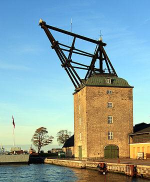Philip de Lange - Image: Mastekranen Holmen