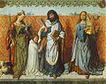 Master Of The St. Bartholomew Altar - St Agnes, St Bartholomew and St Cecilia - WGA14628.jpg