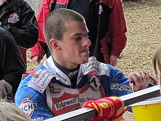 Matěj Kůs Czech speedway rider