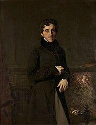 Jean-Auguste-Dominique Ingres: Portrait du comte Louis-Mathieu Molé