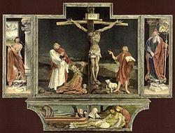 Isenheimer Altar  Matthias Grünewald (ab 1511)