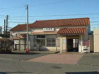 Matoba Station Railway station in Kawagoe, Saitama Prefecture, Japan