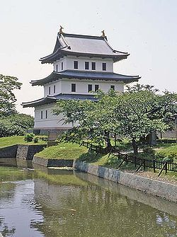 Matsumae Castle (July 2004)