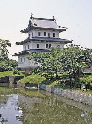 Matsumae, Hokkaido - Matsumae Castle (July 2004)