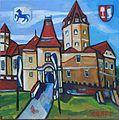 """Matthias Laurenz Gräff """"Schloss Kornberg""""..JPG"""
