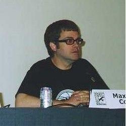 Max Allan Collins in at the 2002 Comic-Con International