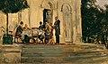 Max Slevogt - Souper auf der Terrasse der Badenburg im Nymphenburger Schloßpark - 4563 - Österreichische Galerie Belvedere.jpg