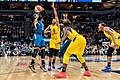 Maya Moore shoots the ball in the first quarter in the Minnesota Lynx vs Los Angeles Sparks game.jpg