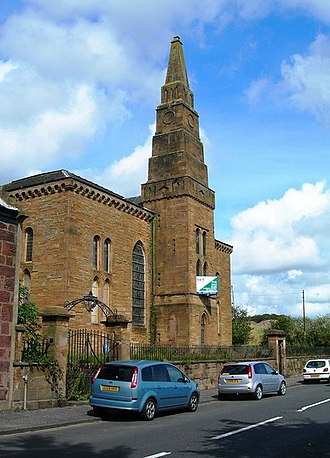 Maybole - The disused Maybole Parish Church