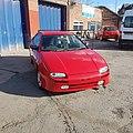 Mazda 323 LXI undergoing refurbishment.jpg
