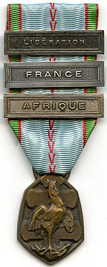 Image illustrative de l'article Médaille commémorative de la guerre 1939-1945