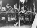 Medicinmannen Selimo med fru och anförvanter. Sambú River, Darién. Panama - SMVK - 004114.tif