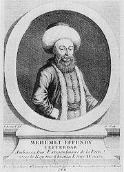 Mehmed Effendi 1721