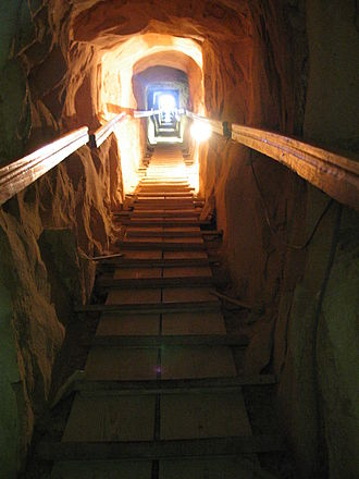 Meidum - Passageway in the Meidum Pyramid
