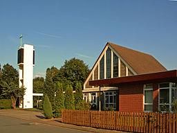 Katholische Kirche St. Andreas in Meine, Landkreis Gifhorn