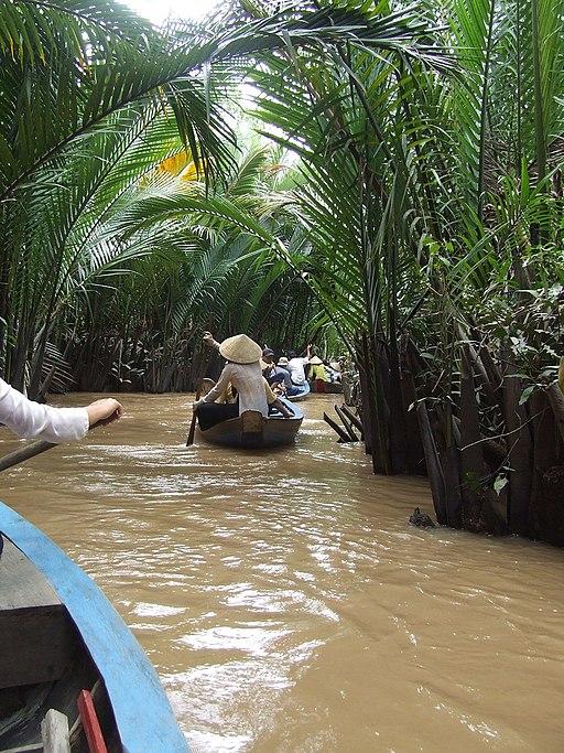 Mekong Delta river -a