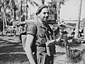 Member of the 2-8th Commando Squadron with a Bren Gun in June 1945.jpg