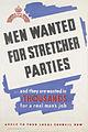 Men Wanted for Stretcher Parties Art.IWMPST13898.jpg