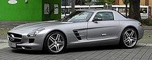 Mercedes-Benz SLS AMG (C 197) – Frontansicht (4), 10. August 2011, Düsseldorf.jpg
